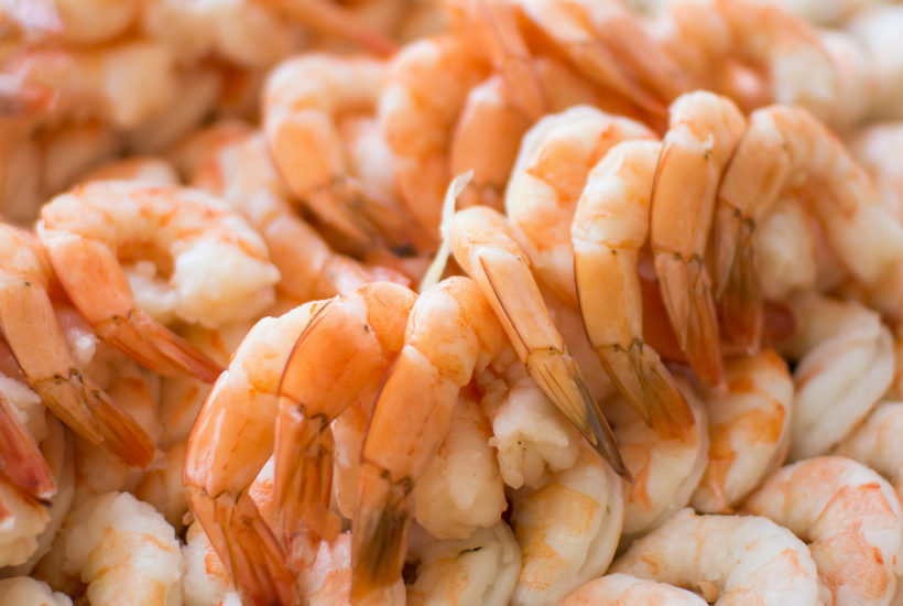 Shrimp is a quick and easy food for working moms